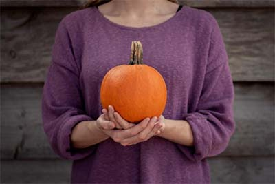 Pumpkin's high fiber it will help you feel full longer