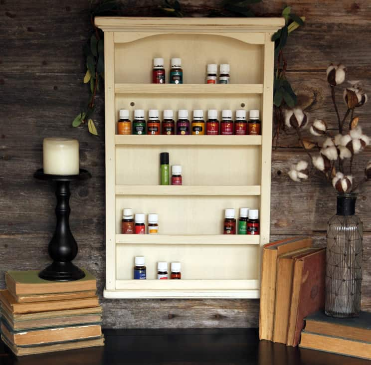 Essential Oil Storage by A&R HomeScapes