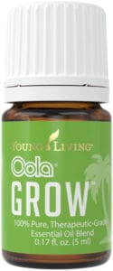 Young Living Oola Grow essential oil blend